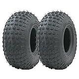 2 -145 / 70-6 - pneu VTT nacré Quad roues de remorque 50cc 90cc 110cc Wanda 75 kgs