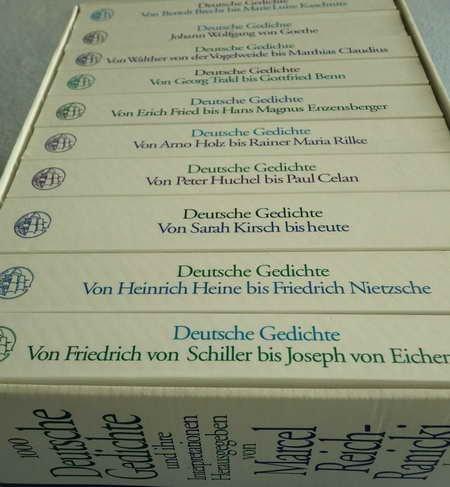 1000 Deutsche Gedichte Und Ihre Interpretationen 10 Bde