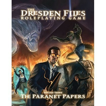 The Dresden Files The Paranet Papers (Volume 3) Roleplaying Game [parallel import goods]