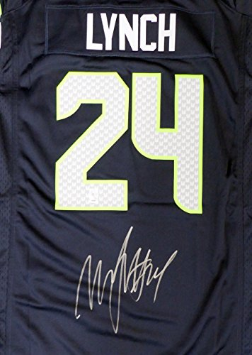 the best attitude fcdb8 b9dba Marshawn Lynch Seattle Seahawks Authentic Jersey, Seahawks ...