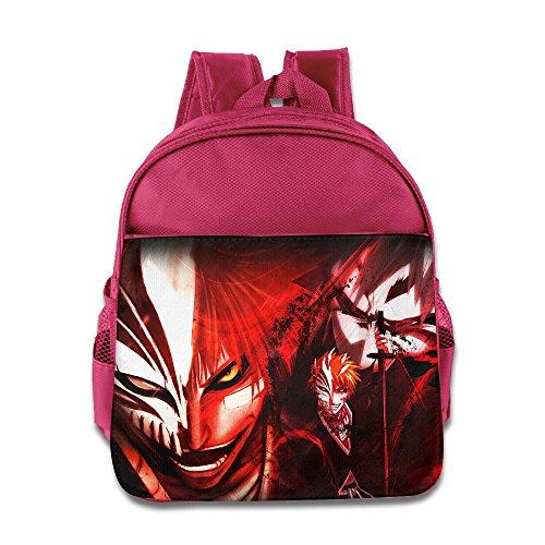 gambar-keren-ichigo-kurosaki-bleach-kids-school-backpack-bag-pink