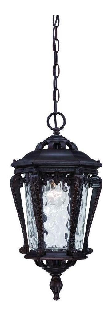 Stratford Collection Hanging Outdoor Architectural Bronze Light Fixture by Acclaim Lighting