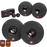 JBL Bundle - 1-Pair of CLUB-602CAM 6.5' Component Speakers with 1-Pair of CLUB-622AM 6.5' Coax Speakers