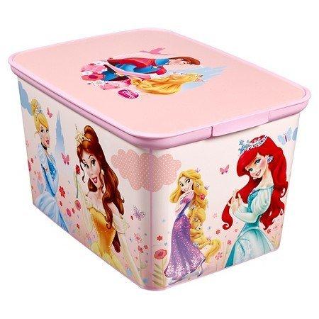 New Princesses Plastic Storage Bin Large