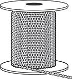Hy-Ko Ball Chain Nickel Plated Steel Bulk