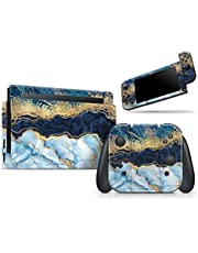 Foiled Marble Agate - Skin Decal Vinyl Full-Body Wrap Kit Compatible with The Nintendo Wii (Nintendo Wii not Included)