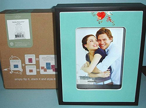 Lenox Chirp Simply Fine 2-Sided Picture Frame (5x7 & 4x6) Floral Flip It New