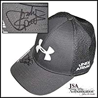 8b3ad9c4cae Jordan Spieth Signed Under Armour Golf Hat - JSA Certified - Autographed  Golf Equipment