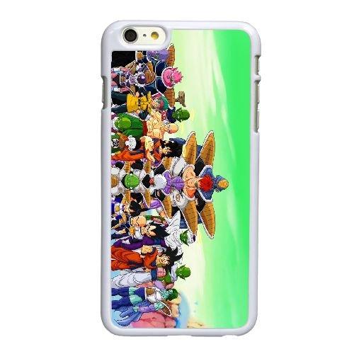 N8X87 dragon ball z G1I2BS coque iPhone 6 4.7 pouces de cas de couverture de téléphone portable coque blanche RX8FHG6NJ