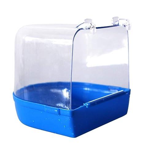 Lamzoom Bird - Caja de baño para Colgar Jaula de Ducha, bañera ...