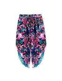Gova Swimwear Ocean Floral Loose Pants Cover Up