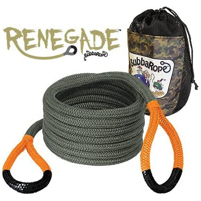 """Bubba Rope (176655 Renegade Rope, 3/4"""" x 30' (30 Foot): Automotive"""