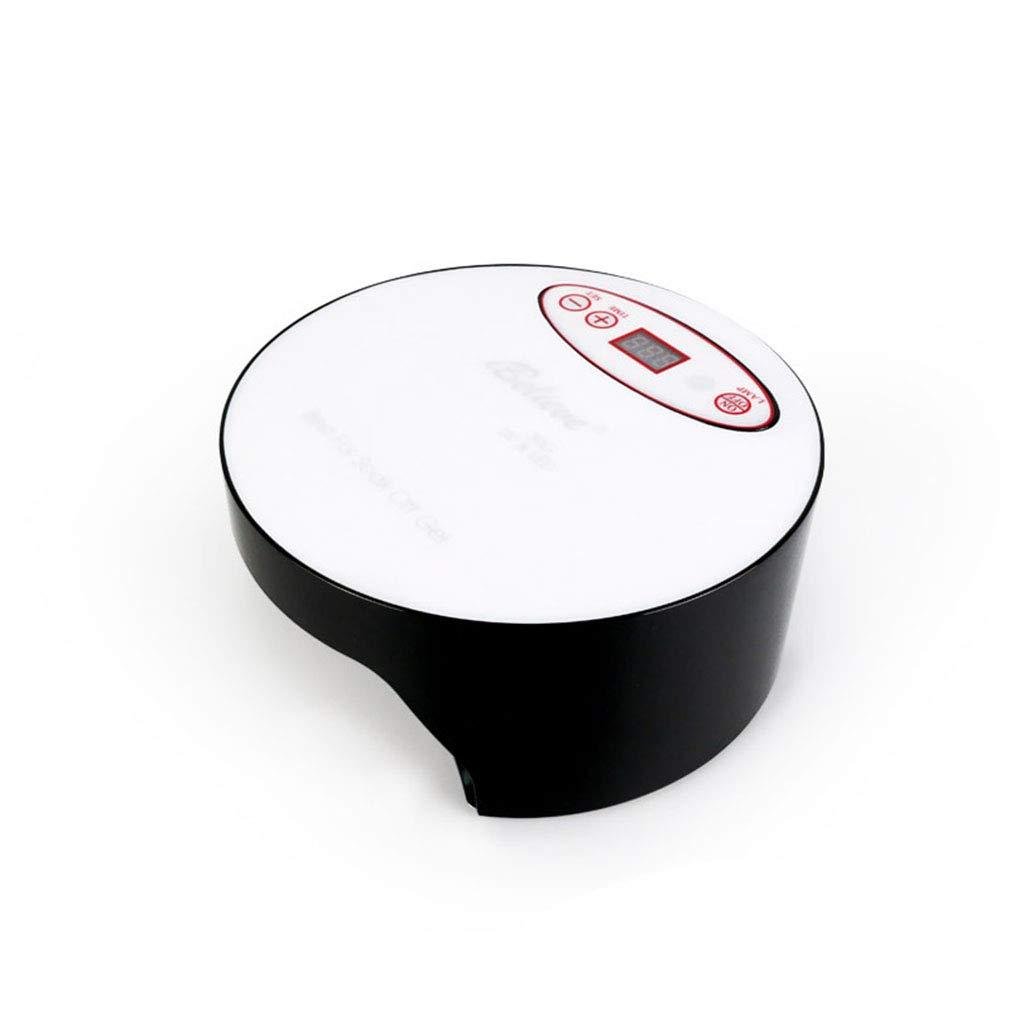 ネイルドライヤー、タイマー付きネイル用ポータブルLED/UVランプ、赤外線センサー、取り外し可能な磁性プレート、すべてのジェルに適して,Black  Black B07PQHN2J4