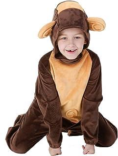 KINJOHI Costume Scimmia per Ragazzi e Ragazze Cosplay Abbigliamento Scimmia