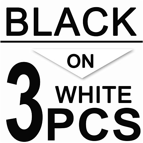 3 Pack Standard Laminated Tapes Compatible for Brother P-touch Label Maker TZ TZe Laminated Tape TZe-241 TZe241 TZ-241 TZ241 Black on White 18mm (3/4 Inch) x 26.2 ft. (8m) Photo #3