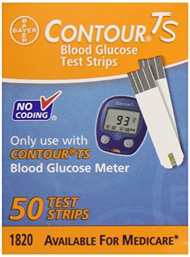 Bayer Contour Ts Retail Test Strips, 50 Count by Bayer Co...