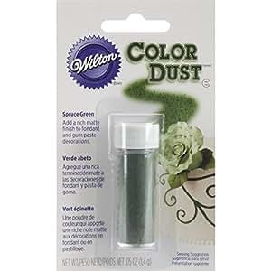 Wilton 703-109 Color Dust Food Decorative, Spruce Green