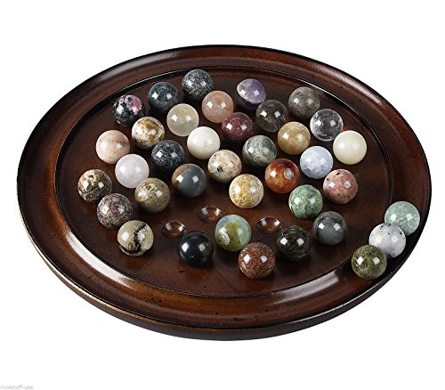 h Finish Solid Gemstone Marbles - Authentic Models GR005F ,#G14E6GE4R-GE 4-TEW6W218107 (Marble Gemstones)