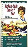Lickety-Split Grocery List, Zonya Foco, 1890926256