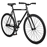 Retrospec Harper Single-Speed Fixie Style Commuter Bike Matte Black