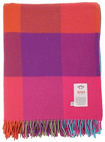 Avoca Cashmere Blend Extra Large Throw, 88