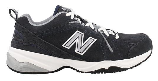 New Balance Men's MX608v4 Training Shoe, Navy, 6.5 D US