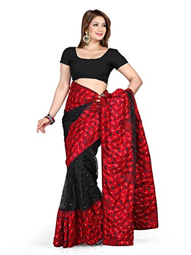 maruti-fashion-womens-bollywood-designer-saree-630-metres-with-blouse-piece-black
