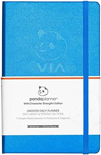 Panda Planner Pro - Best Daily Planner for Happiness & Productivity - 8.5 x 11