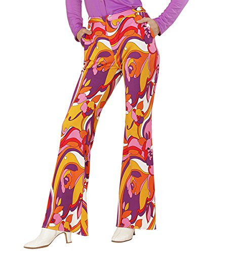 Groovy 70s Flared Hippie Pants for Womne. Size 14-20