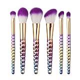 Facial Yoga Lip Lines - LUNIWEI Beauty Makeup 6 PCS/Set Colorful Brush Set
