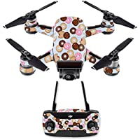 Skin for DJI Spark Mini Drone Combo - Donut Binge| MightySkins Protective, Durable, and Unique Vinyl Decal wrap cover | Easy To Apply, Remove, and Change Styles | Made in the USA