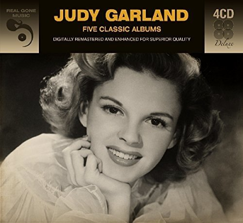 Judy Garland - 5 Classic Albums (Deluxe Edition, Remastered, Digipack Packaging, Germany - Import, 4PC)