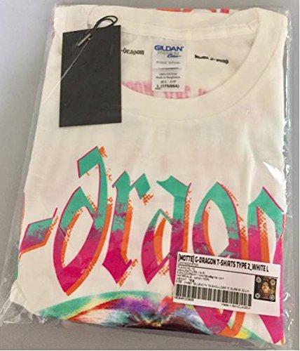 BIGBANG G-DRAGON ソロコンサート 2017 ACT Ⅲ M.O.T.T.E 母胎 Tシャツ Lサイズ 白 ジヨン