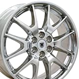 2011 cadillac srx rims - 20x8 Wheels Fit Cadillac, Saab - SRX Style Polished Rims - SET