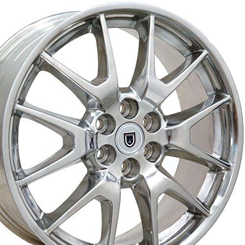 OE Wheels 20 Inch Wheel Fits 6-Lug Cadillac SRX Saab 9-4 SRX Style CA12 Polished SKB 20×8 Rim Hollander 4709