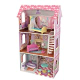 KidKraft Penelope Dollhouse with 9 Accessories Included, Gift for Ages 3+