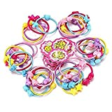 50PCS Color Elastic Baby Kids Children Girl Hair Ties Bands Hair Rope Ponytail Holders Headband Scrunchie Hair Accessories Not easy Slipping Breaking or Stretching Out