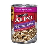 Purina ALPO Gravy Wet Dog Food, Prime Cuts With Tu...