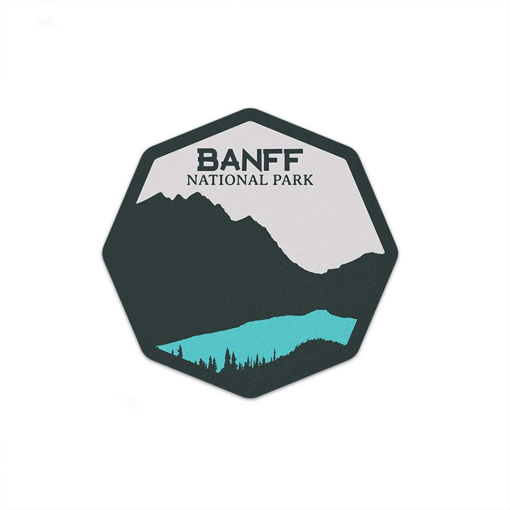 Banff National Park Sticker 3/""