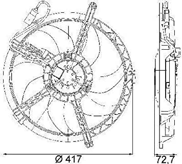Amazon.com: Go-Parts - for 2007 - 2015 Mini Cooper Countryman Engine /  Radiator Cooling Fan Assembly - (Base Model Hatchback) 17 42 2 754 854  MC3115104 Replacement 2008 2009 2010 2011 2012 2013 2014: Automotive | 2014 Mini Cooper Engine Diagram |  | Amazon.com