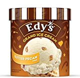 Edy's Grand, Butter Pecan Blast Ice Cream, 14-Ounces (Pack of 8)