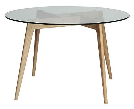 Esstisch rund schwarz  ambiato Esstisch Rund 120cm Küchentisch Konferenztisch Büro Tisch ...