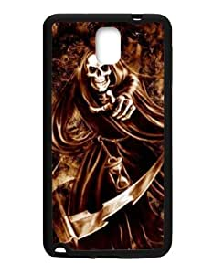 """Samsung Galaxy Note 3 plastic and TPU cheap protective case cover with cool """"skull """" pattern-29"""