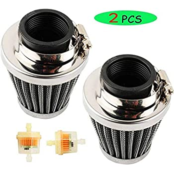 new 35mm air filter 2pcs for 50cc 70cc. Black Bedroom Furniture Sets. Home Design Ideas