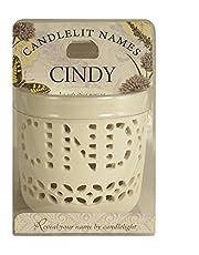 Candlelit Names 001850048 Candle-Cindy