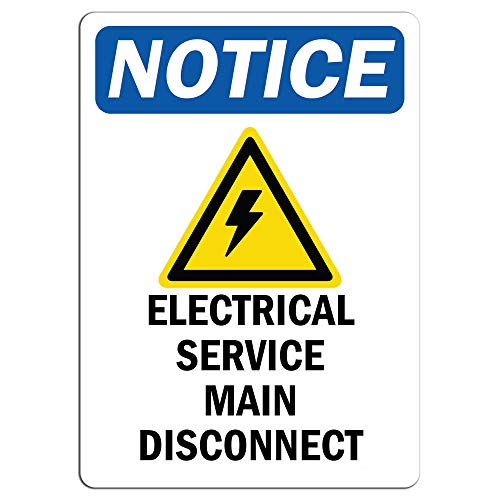 service disconnect sign - 8