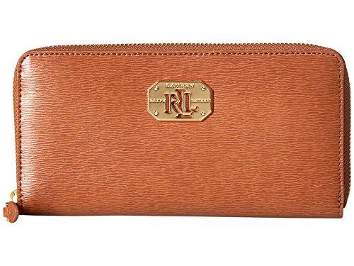 RALPH LAUREN Women's Newbury LRL Zip Wallet Lauren Tan One Size