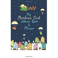 My Christmas Card Address Book & Planner