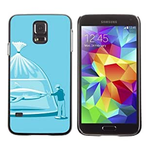 Designer Depo Hard Protection Case for Samsung Galaxy S5 / Shark