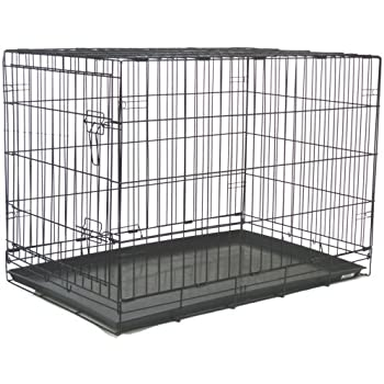 Amazon Com Brand New Folding Dog Cat Kennel Crate Cage